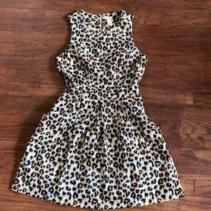 Forever 21 leopard print dress